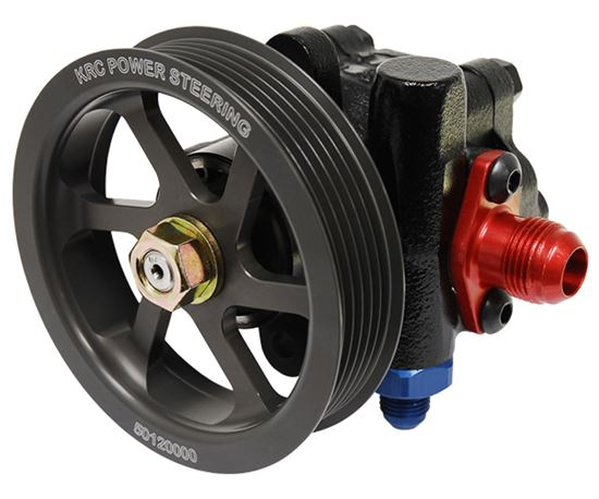KRC Power Steering Pump Cast Pulleys
