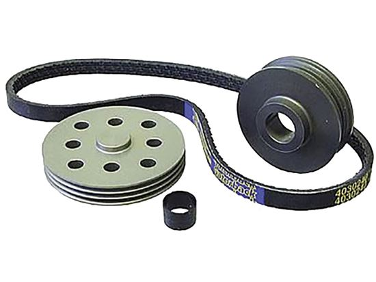 Powermaster Pulley Kits for Alternator & Water Pump