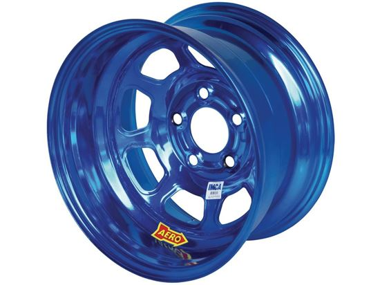 "AERO 52 Series - AEROBrite Color Chrome 15"" x 8"" Wheels - IMCA"