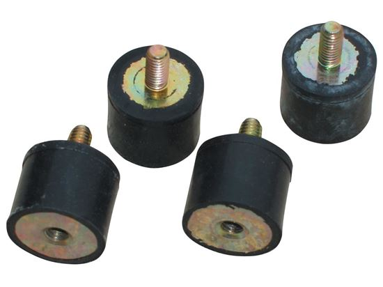 MSD Vibration Mounts For 5 & 6 Box - 4pack