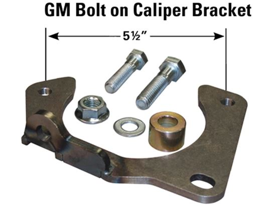 AFCO Bolt-On Caliper Bracket