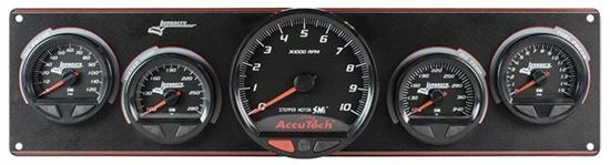 "Longacre SMI Elite Waterproof Gauges w/ 4.5"" Tach"