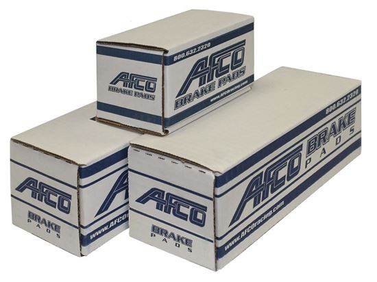 AFCO Brake Pads - GM Metric SR Axle Set