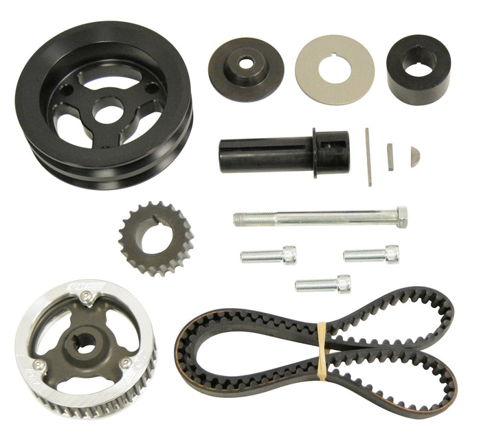 ENGINE & DRIVELINE - CRATE SINGLE BELT DRIVE KIT (HEAD MOUNT)