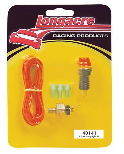 Longacre Water Pressure Warning Light Kit