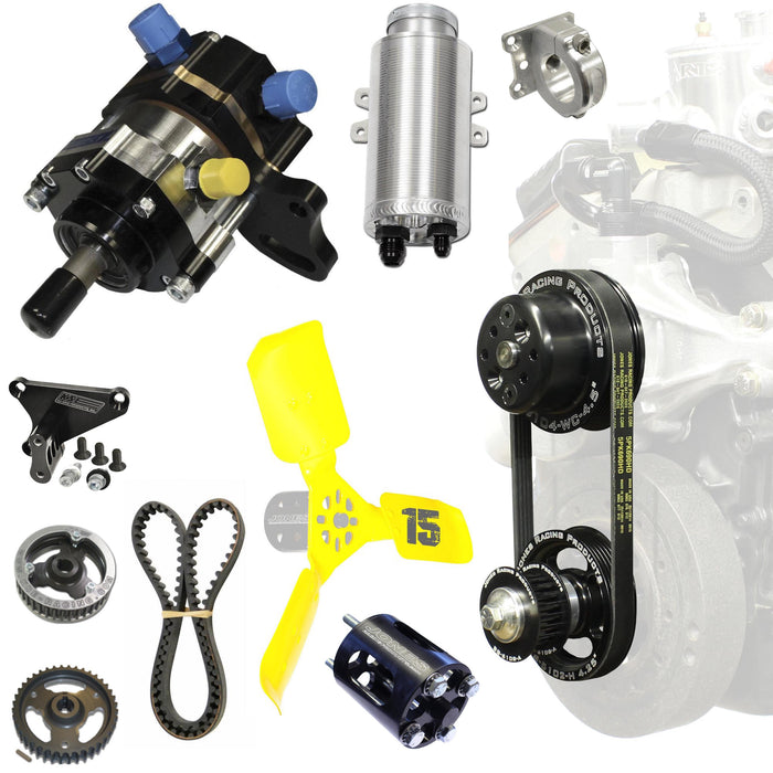 FRONT MOUNT FUEL/PS KIT