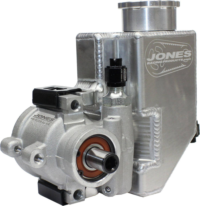 STEERING - ALUMINUM POWER STEERING PUMP W/ RESERVOIR