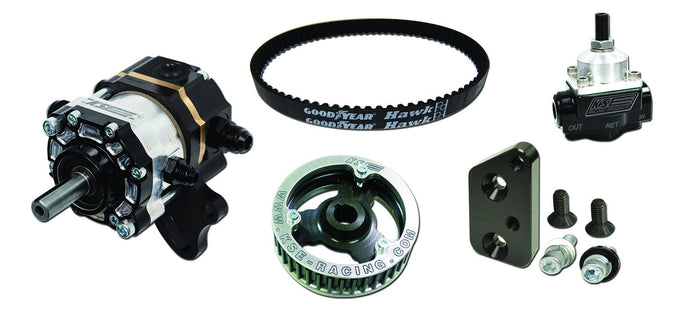 STEERING - TANDEM X BELT DRIVE PUMP - BELLHOUSING KIT