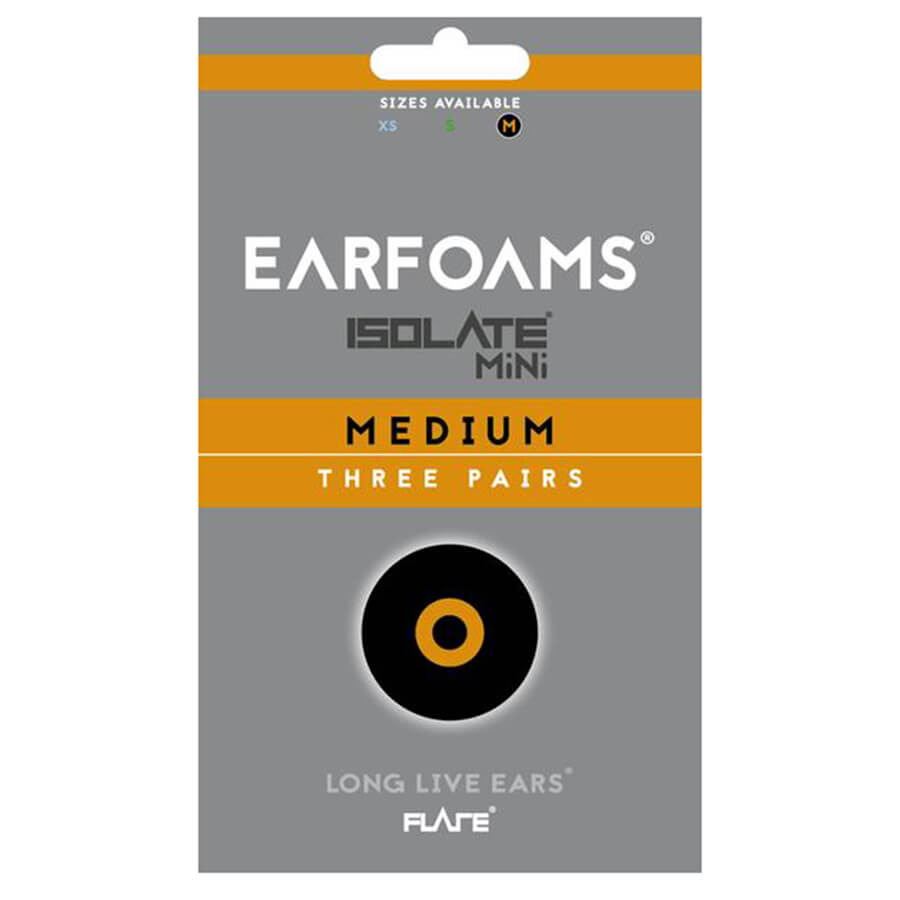 EARFOAMS® - ISOLATE® MiNi Earplugs