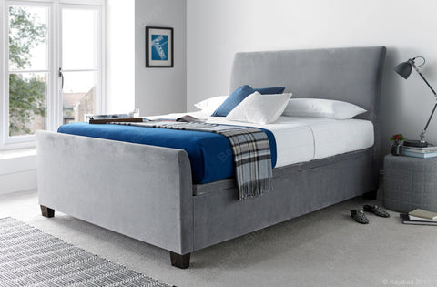 Allendale Fabric Storage Bed