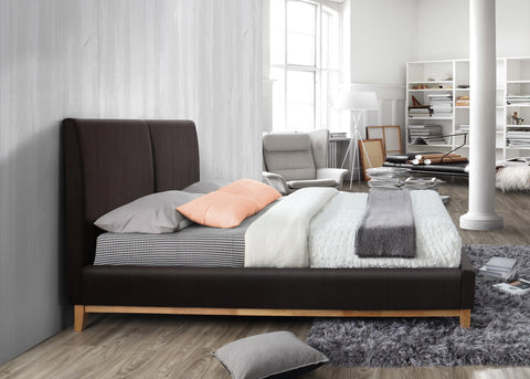 Helsinki Faux Leather Bedstead