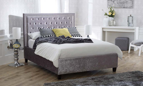 Rhea Ice Crush Storage Bedstead
