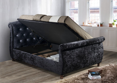 Toulouse Side Lift Ottoman Bed