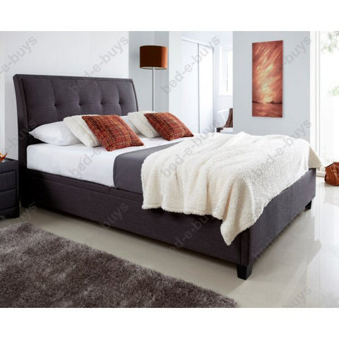 Accent Upholstered Storage Bed