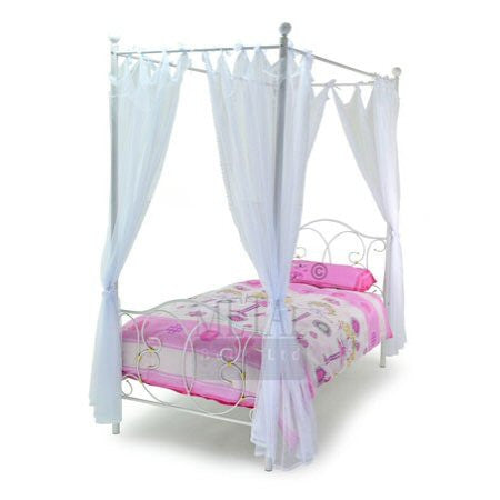 Ballet Four Poster Metal Bed