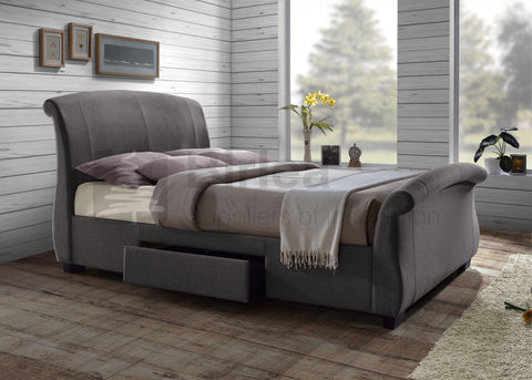 Barcelona Bedstead with Drawers