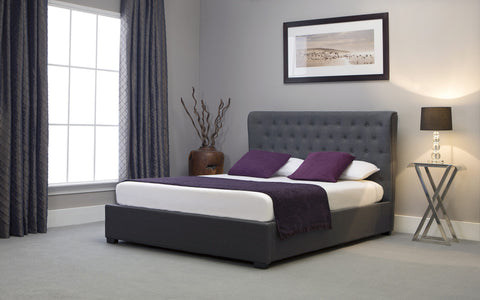 Kensington Grey Wing Storage Bedstead
