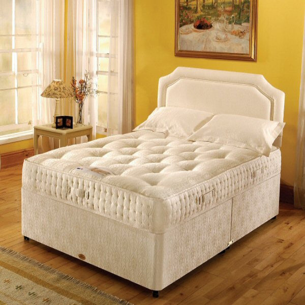 Buttermere 1000 pocket sprung divan set bed e buys for Pocket sprung divan set