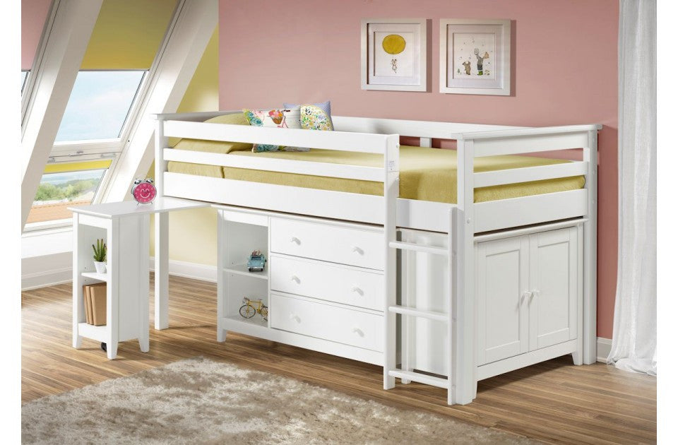 Cotswold White Pine Kids Cabin Bed Set