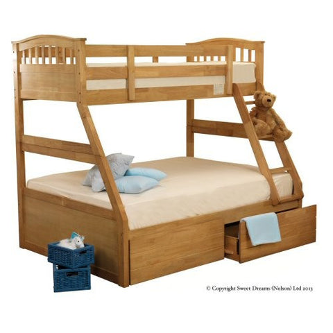 Epsom Triple Wooden Bunk Bed