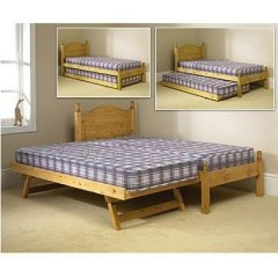 Guest Bed Set Solid Pine
