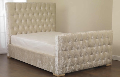 Idol Dance Fabric Bedstead