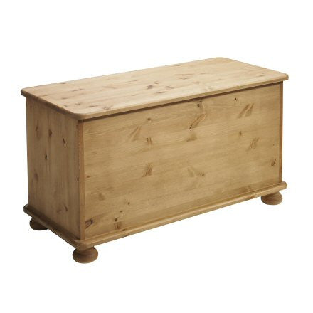 Lord Wooden Storage Ottoman