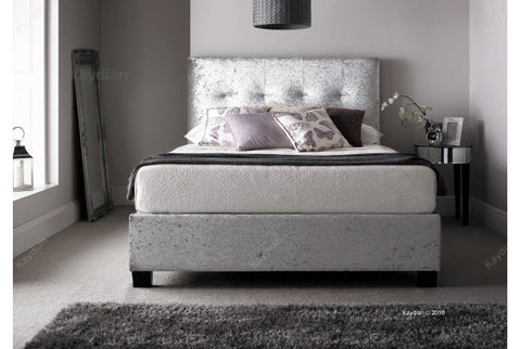 Walkworth Crushed Velvet Storage Bed