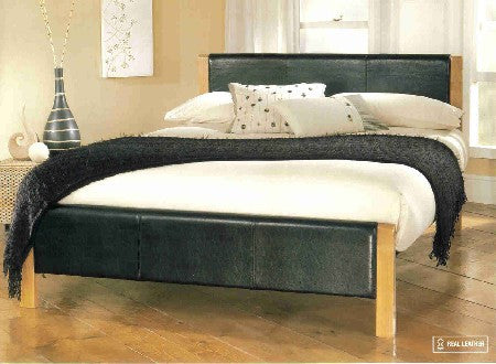 Mira Faux Leather Bed