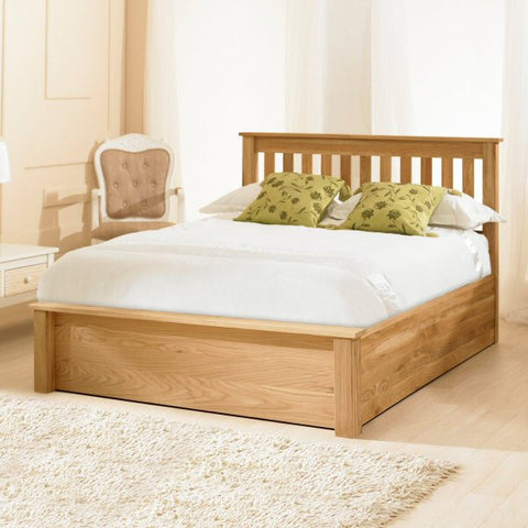 Highbury Solid Oak Storage Bedstead