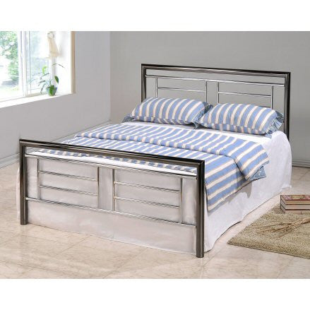 Montana Chrome & Nickel Bed