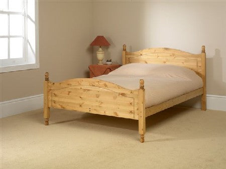 Orlando High Foot End Pine Bedstead