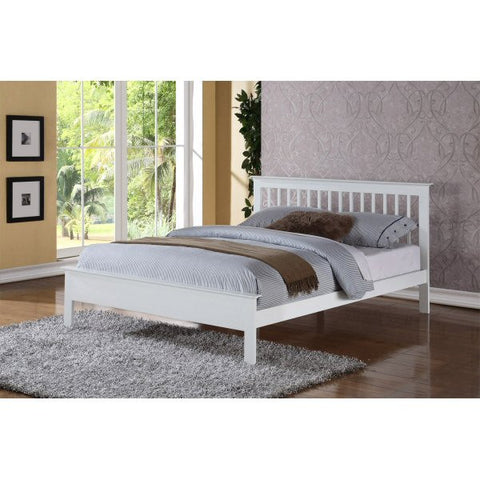Pentre White Bedstead