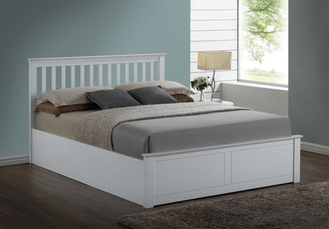 Pentre White Ottoman Bedstead
