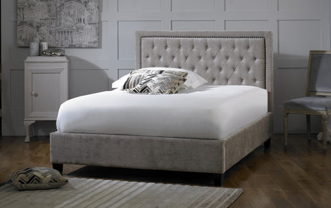 Rhea Fabric Storage Bedstead
