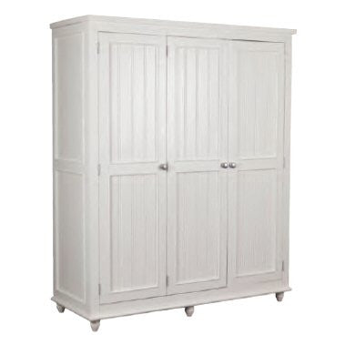 Rook Pine Wooden Bedroom Furniture finished in off white