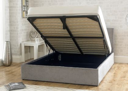 Stirling Stone Fabric Storage Bedstead