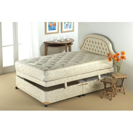Stirling Side Lift Visco Memory Storage Bed Set