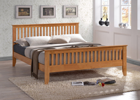 Turin Wooden Bedstead