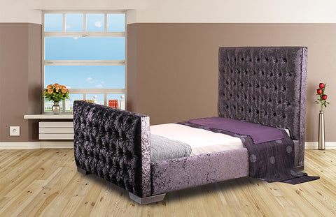 Vibe Fabric Adjustable Bedstead