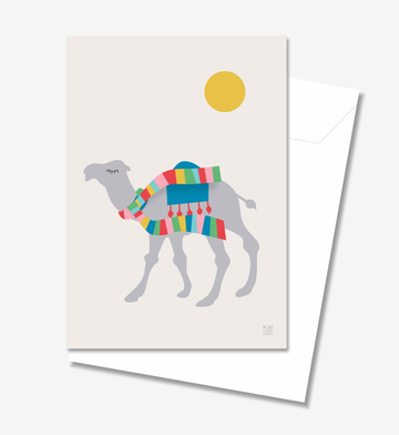 Dromedary - Greeting Card A5