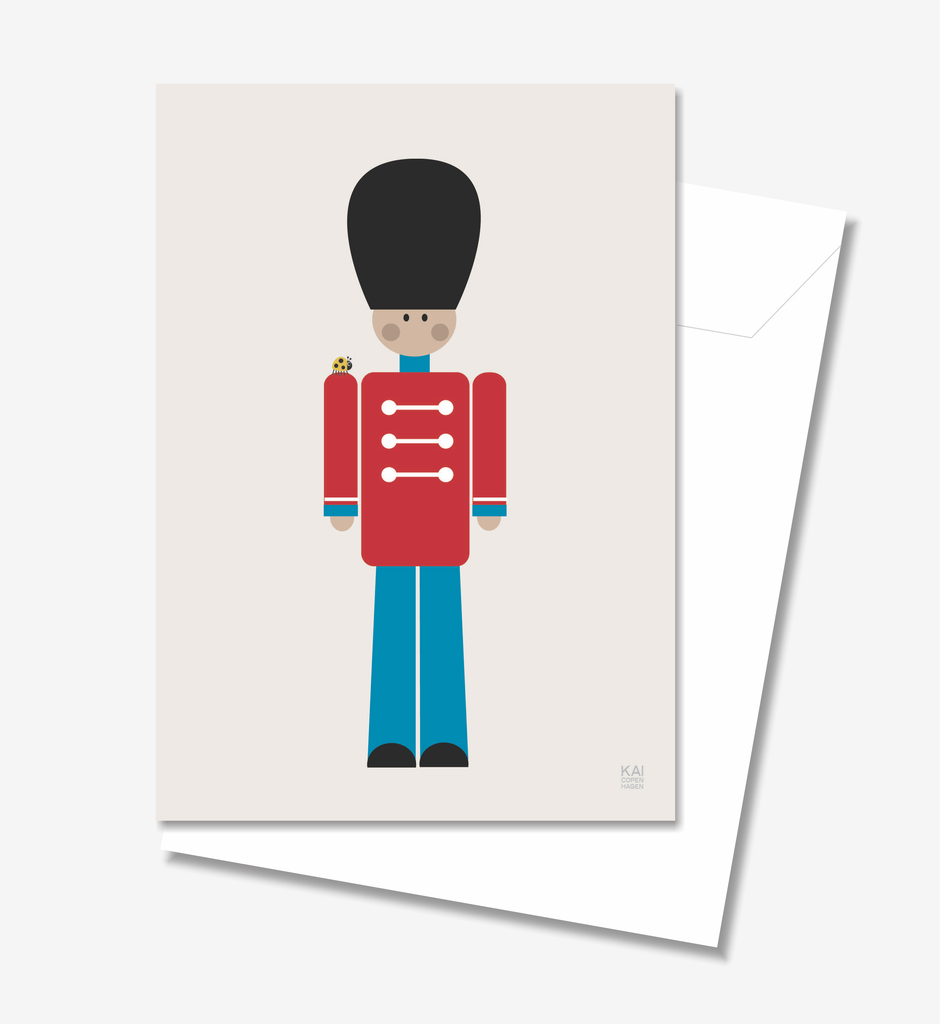 Soldier  - Greeting Card A5