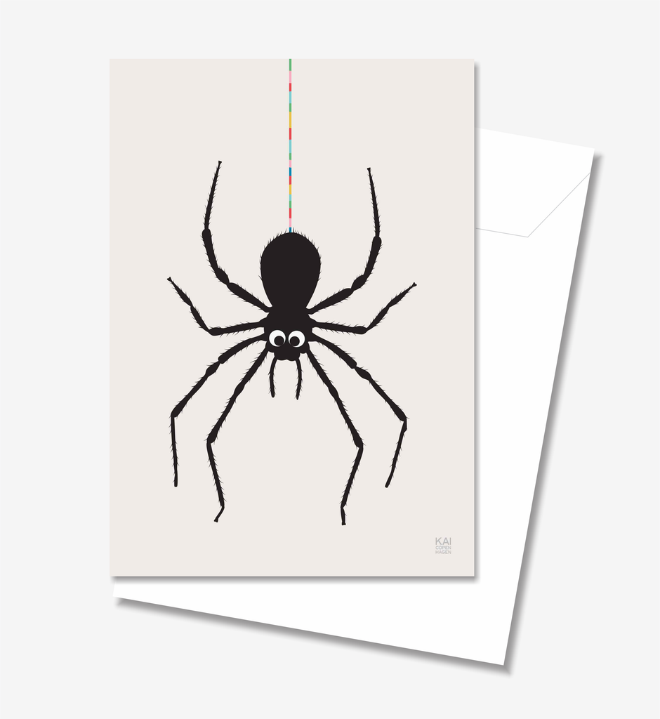 Spider  - Greeting Card A5