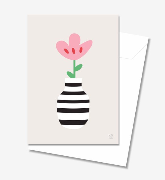 Flower  - Greeting Card A5