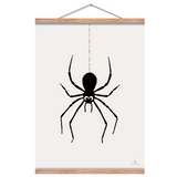 Black Spider poster by Josephine Blay