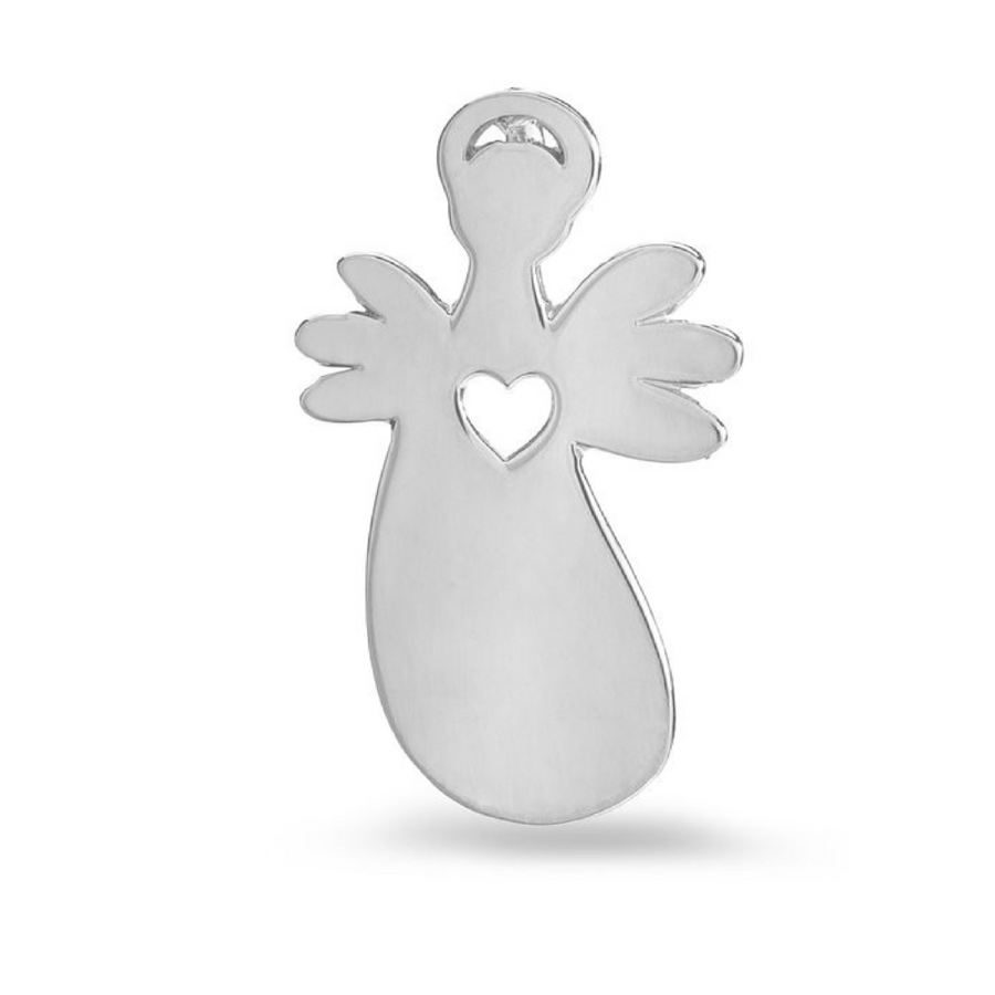 Heart Angel pendant with chain