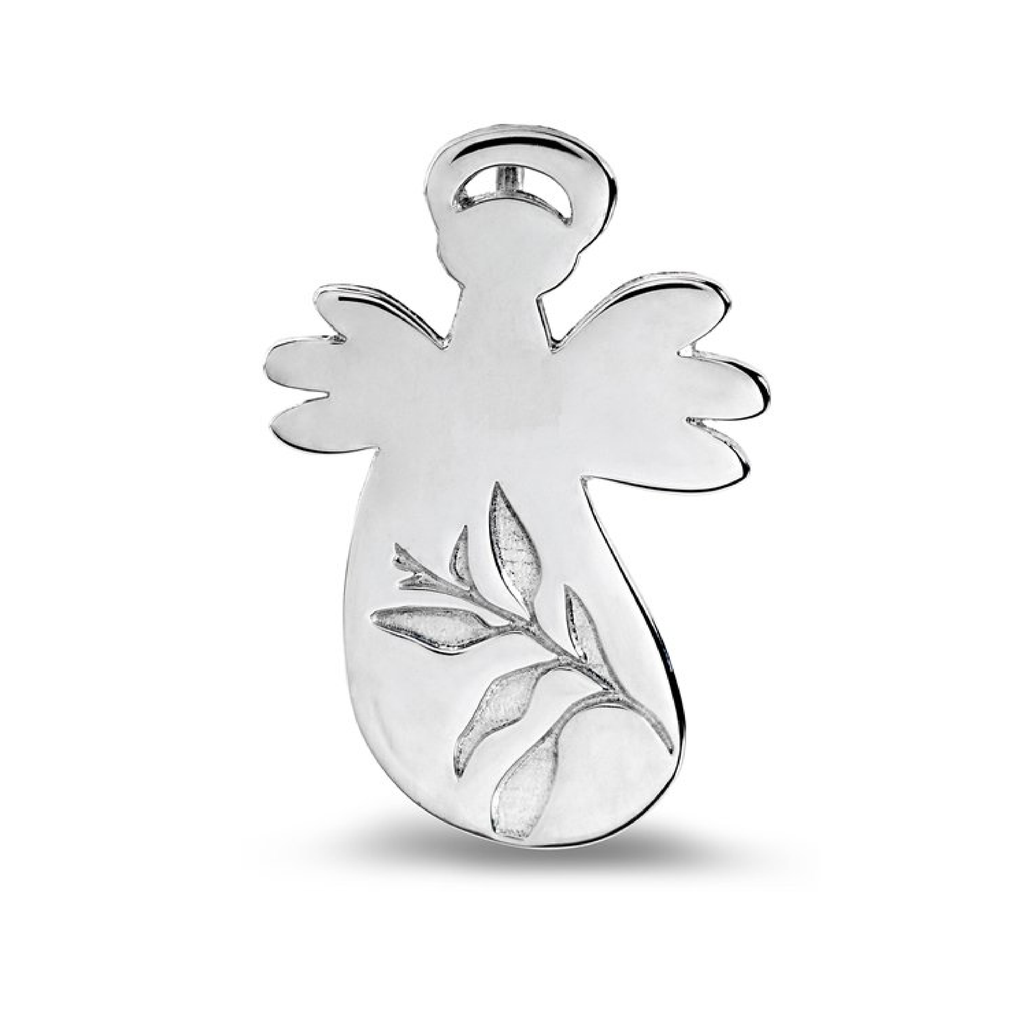 Spout Angel pendant - Silver