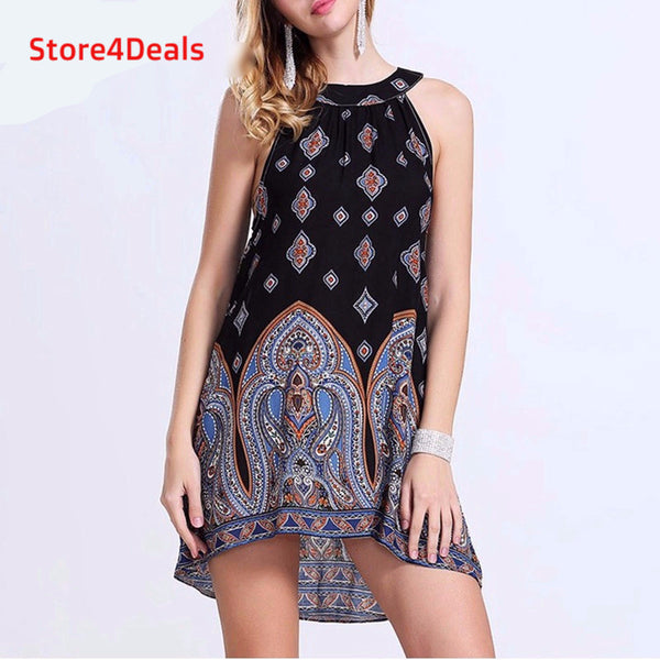 Casual Loose Chiffon Dress - Store4Deals