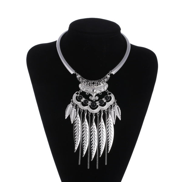 FREE Vintage Silver Boho Necklace