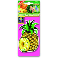 Pineapple Fresh Fruit, hanging car air freshener.